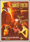 "Movie Posters:Adventure, The Count of Monte Cristo (Croatia Film, 1954). Yugoslavian Poster(18.75"" X 26.75"") Part II -- ""Revenge."" Adventure.. ..."