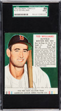 Baseball Cards:Singles (1950-1959), 1952 Red Man Ted Williams #23A SGC 88 NM/MT 8 - None Higher....
