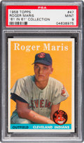 Baseball Cards:Singles (1950-1959), 1958 Topps Roger Maris #47 PSA Mint 9 - None Higher....
