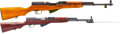 Long Guns:Semiautomatic, Lot of Two Chinese SKS Semi-Automatic Rifles.... (Total: 2 Items)
