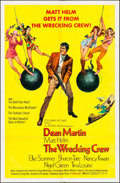 """Movie Posters:Action, The Wrecking Crew (Columbia, 1969). One Sheet (27"""" X 41""""). Action....."""