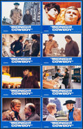 "Movie Posters:Academy Award Winners, Midnight Cowboy (United Artists, R-1981). Uncut Lobby Card Set of 8(11"" X 14""). Academy Award Winners.. ... (Total: 8 Items)"