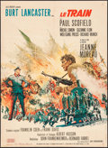 """Movie Posters:War, The Train (United Artists, 1964). French Affiche (23"""" X 37""""). War....."""