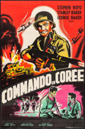 "Movie Posters:War, Hell In Korea (Cineprodis-Films, 1957). French Affiche (30.5"" X45.75""). War.. ..."