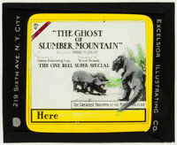 "The Ghost of Slumber Mountain (World Pictures, 1918). Glass Slide (3.25"" X 4""). Science Fiction"