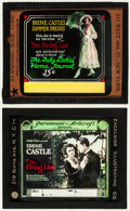 """Movie Posters:Drama, The Firing Line (Paramount, 1919). Glass Slides (2) (3.25"""" X 4""""). Ladies Home Journal Style & Regular Style. Drama.. ... (Total: 2 Items)"""