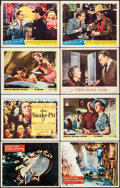 "Movie Posters:Drama, A Night to Remember & Others Lot (Rank, 1959). Lobby Cards (37)& Title Cards (4) (11"" X 14""). Drama.. ... (Total: 41 Items)"