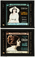 """Movie Posters:Drama, The Cruise of the Make-Believes & Other Lot (Paramount, 1918). Glass Slides (2) (3.25"""" X 4""""). Drama.. ... (Total: 2 Items)"""