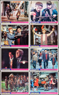 "Movie Posters:Animation, Bedknobs and Broomsticks (Buena Vista, 1971). British Front of House Mini Lobby Card Set of 12 (8"" X 10""). Animation.. ... (Total: 12 Items)"