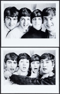 "Movie Posters:Rock and Roll, The Beatles (1963). Restrike Photos (2) (9.5"" X 12""). Rock andRoll.. ... (Total: 2 Items)"
