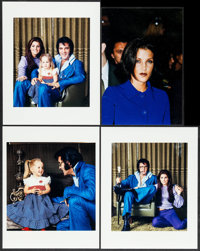 "Elvis Presley Lot (1996). Color Photos (4) (6.5"" X 9.5"" & 7.75"" X 10""). Elvis Presley. ... (..."
