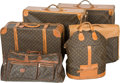 LuxuryAccessory:Travel/Trunk, Six Pieces of Louis Vuitton Classic Monogram Leather Luggage. 23-1/2 h x 28-1/2 w x 9-1/8 d inches (59.7 x 72.4 x 23.2 cm). ... (Total: 6 Items)