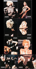 "Movie Posters:Rock and Roll, Truth or Dare (Miramax, 1991). French Lobby Card Set of 8 (8.5"" X10.75""). Rock and Roll. Also Known As In Bed With Madonn...(Total: 8 Items)"