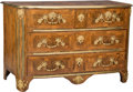 Furniture , A Louis XV Gilt Bronze-Mounted Kingwood Parquetry Commode, probably Paris, 18th century. 32-5/8 x 50 x 25-1/8 inches (82.9 x...