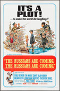 """Movie Posters:Comedy, The Russians Are Coming, the Russians Are Coming (United Artists,1966). One Sheets (3) Identical (27"""" X 41"""") & Lobby Cards ...(Total: 10 Items)"""