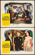 "Movie Posters:Adventure, The Son of Monte Cristo & Other Lot (United Artists, 1940).Lobby Cards (2) & Lobby Card Set of 8 (11"" X 14""). Adventure..... (Total: 10 Items)"