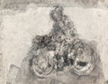 Fine Art - Work on Paper:Drawing, Michel Haas (American/French/German, b. 1934). Motard, Motards:Both on the Bike (two works). 27 x 19 inches (68.6 x 48.3 cm...(Total: 2 Items)