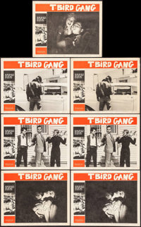 "T-Bird Gang (Filmgroup, 1959). Lobby Cards (7) (11"" X 14""). Exploitation. ... (Total: 7 Items)"