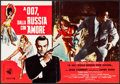 """Movie Posters:James Bond, From Russia with Love (United Artists, 1964). Italian Photobusta(18.25"""" X 26.5""""). James Bond.. ..."""