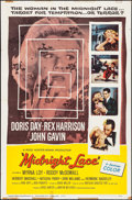 "Movie Posters:Thriller, Midnight Lace (Universal International, 1960). One Sheet (27"" X41""). Thriller.. ..."