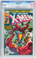 Modern Age (1980-Present):Superhero, X-Men #129 (Marvel, 1980) CGC NM- 9.2 White pages....