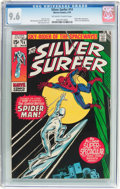 Bronze Age (1970-1979):Superhero, The Silver Surfer #14 (Marvel, 1970) CGC NM+ 9.6 Off-white to whitepages....