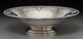 Silver Holloware, American:Bowls, A Black, Starr & Frost Silver Center Bowl, New York, late19th-early 20th century. Marks: (eagle), BLACK STARR &FROST, ST...