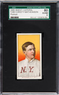 Baseball Cards:Singles (Pre-1930), 1909-11 T206 Sweet Caporal Christy Mathewson (Portrait) SGC 80EX/NM 6....