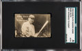 "Baseball Cards:Singles (Pre-1930), 1920 Babe Ruth ""Headin' Home"" (Bat Extended to Right) SGCAuthentic. ..."