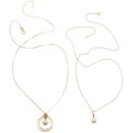 Estate Jewelry:Necklaces, Cultured Pearl, Seed Pearl, Gold Pendant-Necklaces, Mikimoto. ...(Total: 2 Items)