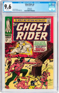 Silver Age (1956-1969):Western, The Ghost Rider #6 Bowling Green Pedigree (Marvel, 1967) CGC NM+9.6 White pages....