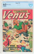 Golden Age (1938-1955):Horror, Venus #16 (Timely, 1951) CBCS FN 6.0 Off-white to white pages....