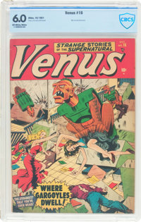 Venus #16 (Timely, 1951) CBCS FN 6.0 Off-white to white pages