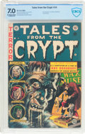 Golden Age (1938-1955):Horror, Tales From the Crypt #34 (EC, 1953) CBCS FN/VF 7.0 Off-white towhite pages....