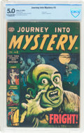 Golden Age (1938-1955):Horror, Journey Into Mystery #5 (Atlas, 1953) CBCS VG/FN 5.0 Cream tooff-white pages....