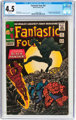 Fantastic Four #52 (Marvel, 1966) CGC VG+ 4.5 White pages
