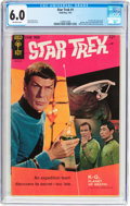 Silver Age (1956-1969):Science Fiction, Star Trek #1 (Gold Key, 1967) CGC FN 6.0 Off-white pages....