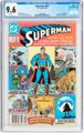 Superman #423 (DC, 1986) CGC NM+ 9.6 White pages
