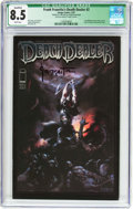 Modern Age (1980-Present):Miscellaneous, Frank Frazetta's Death Dealer #2 Frank Frazetta Cover (Image, 2007) CGC Qualified VF+ 8.5 White pages....