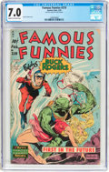 Golden Age (1938-1955):Science Fiction, Famous Funnies #210 Frank Frazetta Copy (Eastern Color, 1954) CGCFN/VF 7.0 Cream to off-white pages....