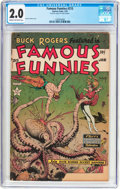 Golden Age (1938-1955):Science Fiction, Famous Funnies #215 Frank Frazetta Copy (Eastern Color, 1955) CGCGD 2.0 Cream to off-white pages....
