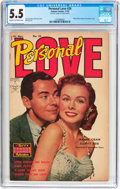 Golden Age (1938-1955):Romance, Personal Love #24 Frank Frazetta Copy (Famous Funnies Publications,1953) CGC FN- 5.5 Cream to off-white pages....