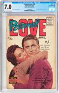 Golden Age (1938-1955):Romance, Personal Love #32 Frank Frazetta Copy (Famous Funnies Publications,1955) CGC FN/VF 7.0 Cream to off-white pages....