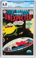 Silver Age (1956-1969):Horror, Tales of the Unexpected #29 (DC, 1958) CGC FN 6.0 Off-white towhite pages....
