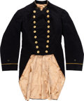 Militaria:Uniforms, Late 19th or Early 20th Century U.S. Navy Ensign Coatee and Sword Belt.... (Total: 2 )