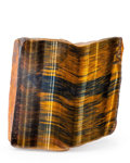 Lapidary Art:Carvings, Tiger's Eye. South Africa. 3.28 x 3.24 x 1.65 inches (8.32 x8.23 x 4.18 cm). ...