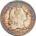 Early Half Dimes, 1795 H10C V-5, LM-8, R.3, MS62 PCGS....