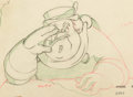 Animation Art:Production Drawing, Pinocchio Coachman Animation Drawing (Walt Disney, 1940).....