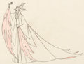 Animation Art:Production Drawing, Sleeping Beauty Maleficent Animation Pan Drawing (WaltDisney, 1959). ...