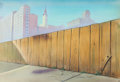 Animation Art:Painted cel background, The Jail Break Production Background Group of 2 (Terrytoons,1946).. ... (Total: 2 Original Art)
